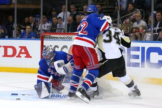 New York Rangers vs. Pittsburgh Penguins - 4/21/16 NHL Pick, Odds, and Prediction