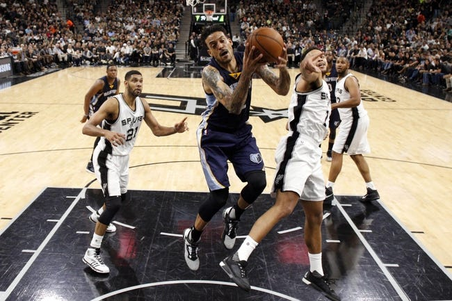 Spurs at Grizzlies Game 3 - 4/22/16 NBA Pick, Odds, and Prediction