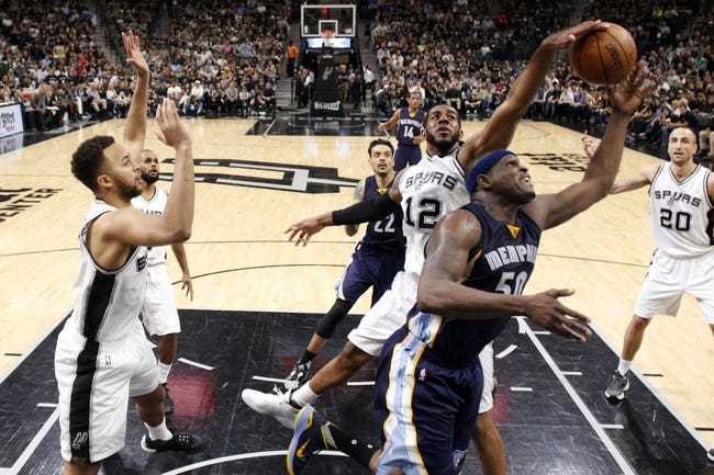 Memphis Grizzlies vs. San Antonio Spurs - 4/22/16 NBA Pick, Odds, and Prediction