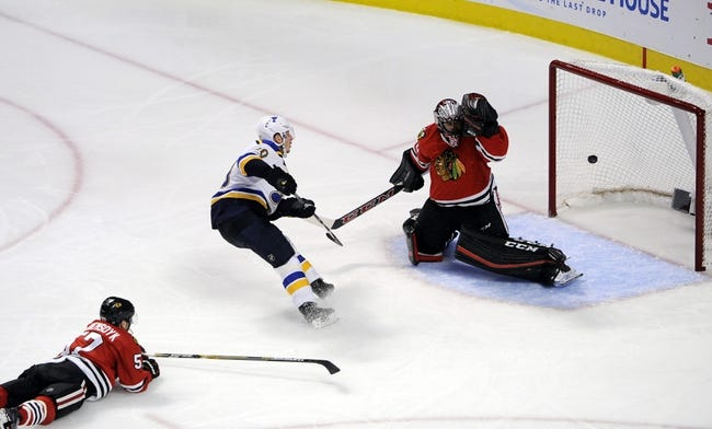 Blackhawks at Blues Game 5 - 4/21/16 NHL Pick, Odds, and Prediction
