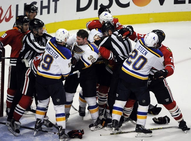 St. Louis Blues vs. Chicago Blackhawks - 4/21/16 NHL Pick, Odds, and Prediction