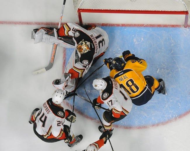 Ducks at Predators Game 4 - 4/21/16 NHL Pick, Odds, and Prediction