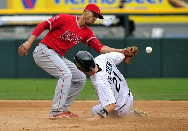 Chicago White Sox vs. Los Angeles Angels - 4/21/16 MLB Pick, Odds, and Prediction