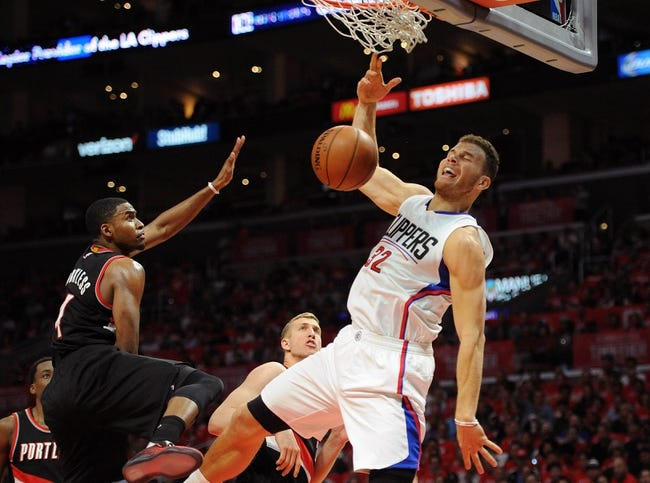 Clippers at Trail Blazers Game 3 - 4/23/16 NBA Pick, Odds, and Prediction