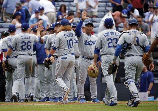 Dodgers vs. Braves - 6/4/16 MLB Pick, Odds, and Prediction
