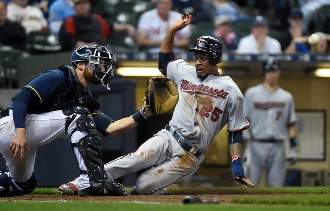 Minnesota Twins vs. Milwaukee Brewers - 8/7/17 MLB Pick, Odds, and Prediction