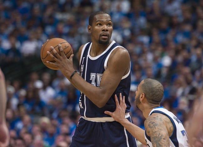 Dallas Mavericks vs. Oklahoma City Thunder - 4/23/16 NBA Pick, Odds, and Prediction