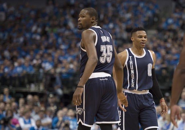 Oklahoma City Thunder at Golden State Warriors - 11/3/16 NBA Pick, Odds, and Prediction
