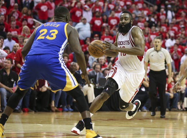 NBA News 4/22/16: Rockets Shock Warriors, Pull to Within 2-1 in Series
