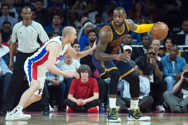 Cavaliers at Pistons Game 4 - 4/24/16 NBA Pick, Odds, and Prediction