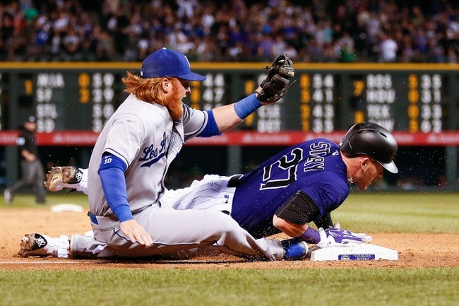 Colorado Rockies vs. Los Angeles Dodgers - 4/23/16 MLB Pick, Odds, and Prediction