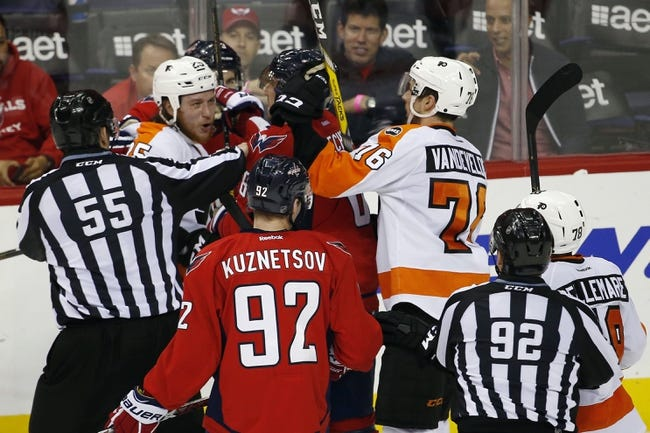 Philadelphia Flyers vs. Washington Capitals - 4/24/16 NHL Pick, Odds, and Prediction