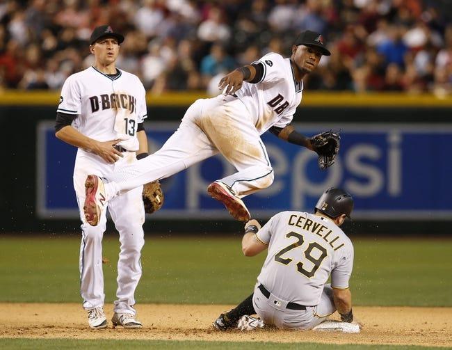 Arizona Diamondbacks vs. Pittsburgh Pirates - 4/23/16 MLB Pick, Odds, and Prediction