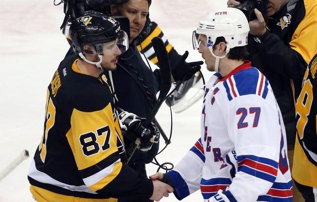 Pittsburgh Penguins vs. New York Rangers - 11/21/16 NHL Pick, Odds, and Prediction