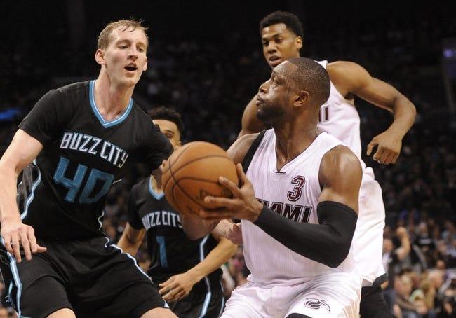 Charlotte Hornets vs. Miami Heat - 4/25/16 NBA Pick, Odds, and Prediction
