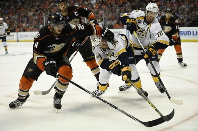 Ducks at Predators Game 6 - 4/25/16 NHL Pick, Odds, and Prediction