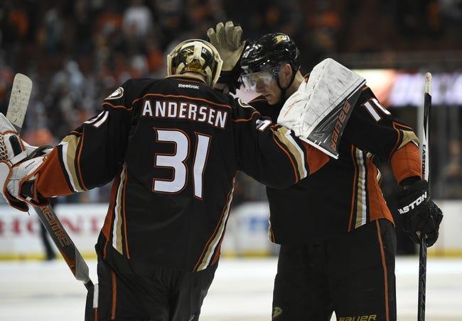 Nashville Predators vs. Anaheim Ducks - 4/25/16 NHL Pick, Odds, and Prediction