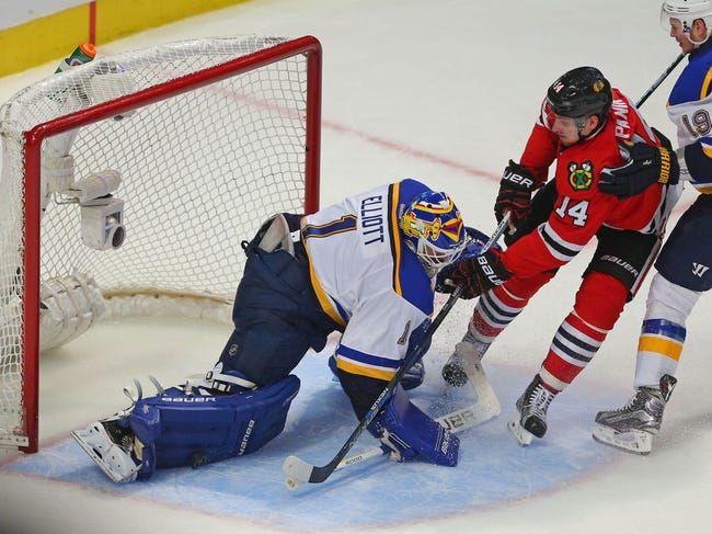 St. Louis Blues vs. Chicago Blackhawks - 4/25/16 NHL Pick, Odds, and Prediction