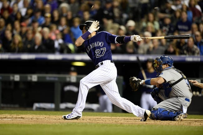 Los Angeles Dodgers vs. Colorado Rockies - 6/6/16 MLB Pick, Odds, and Prediction
