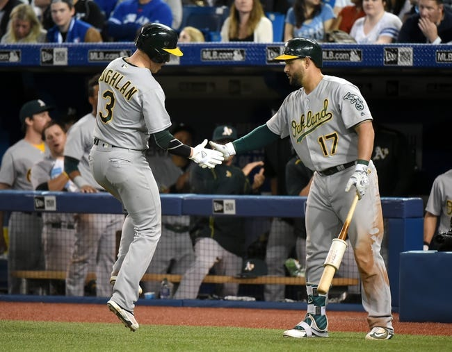 Oakland Athletics vs. Toronto Blue Jays - 7/15/16 MLB Pick, Odds, and Prediction
