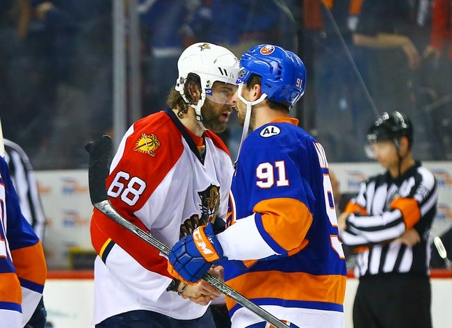 Florida Panthers vs. New York Islanders - 11/12/16 NHL Pick, Odds, and Prediction