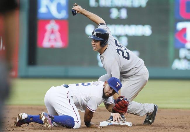 Texas Rangers vs. New York Yankees - 4/26/16 MLB Pick, Odds, and Prediction