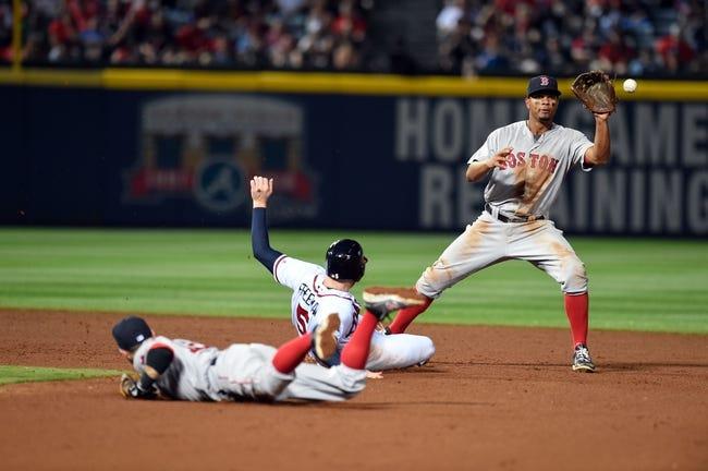 Atlanta Braves vs. Boston Red Sox - 4/26/16 MLB Pick, Odds, and Prediction