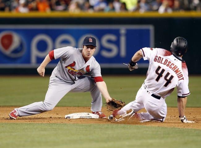 Arizona Diamondbacks vs. St. Louis Cardinals - 4/26/16 MLB Pick, Odds, and Prediction