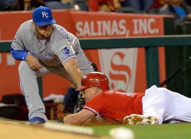 Los Angeles Angels vs. Kansas City Royals - 4/26/16 MLB Pick, Odds, and Prediction