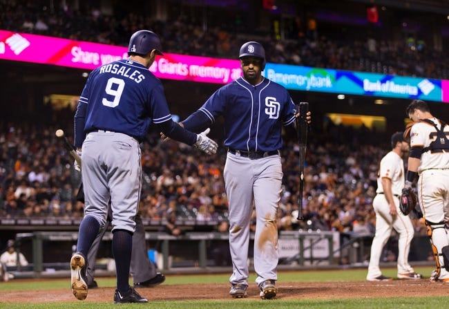 Giants vs. Padres - 4/26/16 MLB Pick, Odds, and Prediction