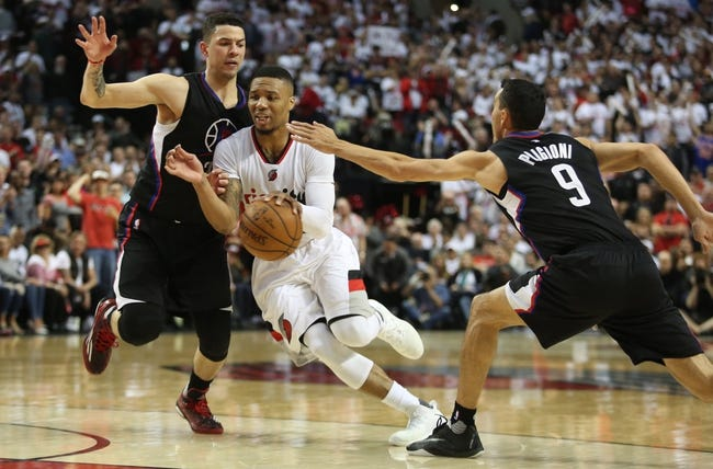 Trail Blazers at Clippers Game 5 - 4/27/16 NBA Pick, Odds, and Prediction