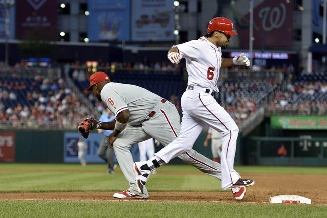 Washington Nationals vs. Philadelphia Phillies - 4/27/16 MLB Pick, Odds, and Prediction