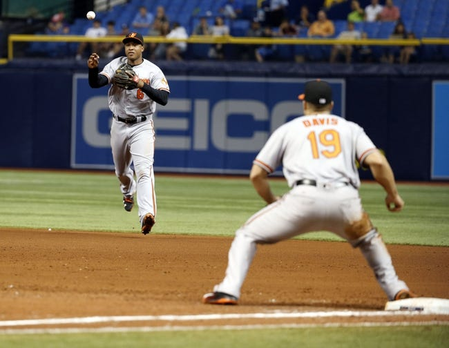 Tampa Bay Rays vs. Baltimore Orioles - 4/27/16 MLB Pick, Odds, and Prediction