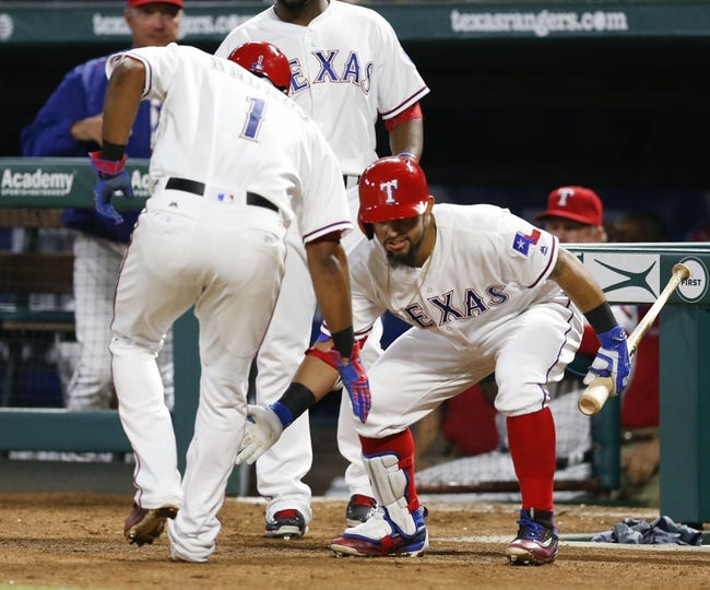 Texas Rangers vs. New York Yankees - 4/27/16 MLB Pick, Odds, and Prediction