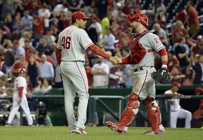 Phillies at Nationals - 4/28/16 MLB Pick, Odds, and Prediction