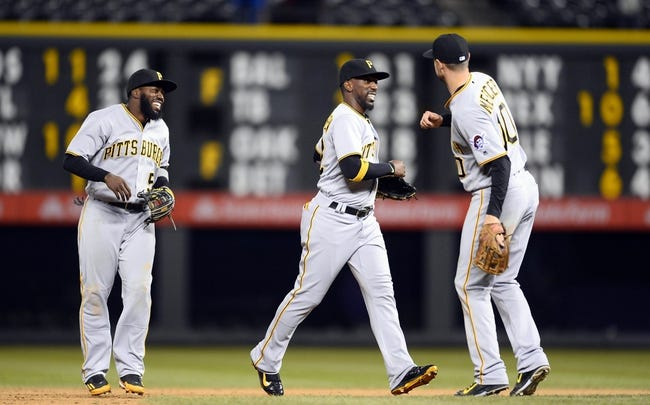 Colorado Rockies vs. Pittsburgh Pirates - 4/28/16 MLB Pick, Odds, and Prediction
