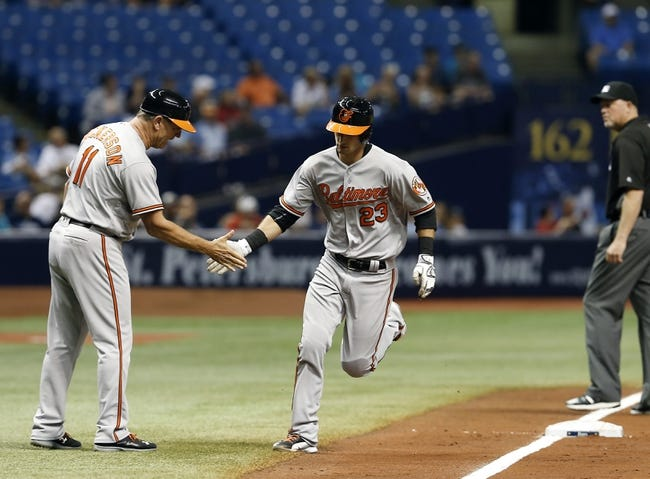 Rays at Orioles - 6/24/16 MLB Pick, Odds, and Prediction
