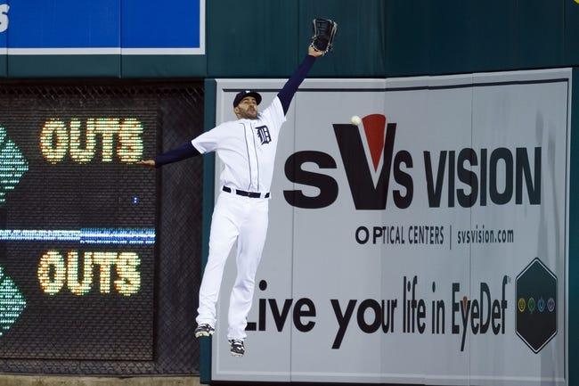 Athletics at Tigers - 4/28/16 MLB Pick, Odds, and Prediction