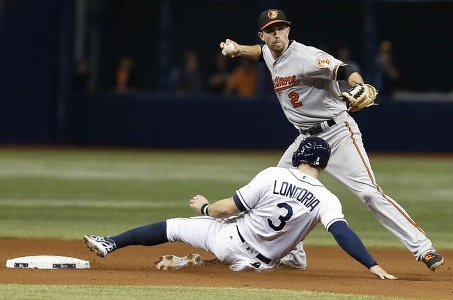 Baltimore Orioles vs. Tampa Bay Rays - 6/24/16 MLB Pick, Odds, and Prediction