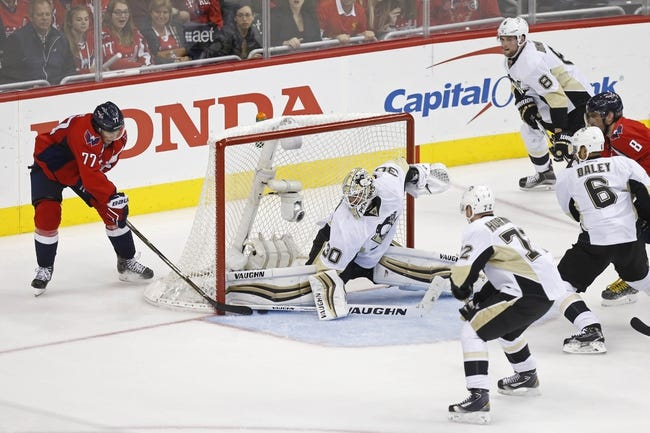 Penguins at Capitals Game 2 - 4/30/16 NHL Pick, Odds, and Prediction