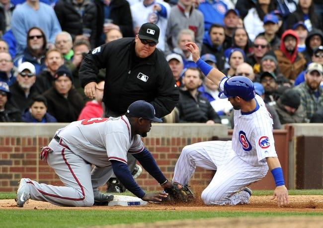 Braves at Cubs - 4/30/16 MLB Pick, Odds, and Prediction