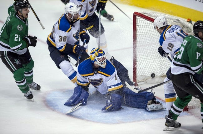 Dallas Stars vs. St. Louis Blues - 5/1/16 NHL Pick, Odds, and Prediction