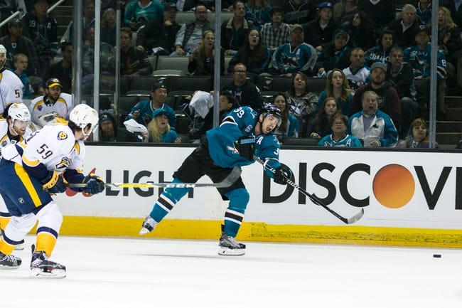Predators at Sharks Game 2 - 5/1/16 NHL Pick, Odds, and Prediction