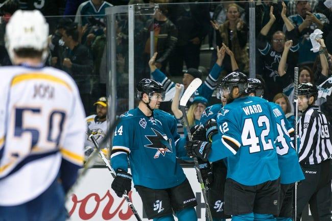 San Jose Sharks vs. Nashville Predators - 5/1/16 NHL Pick, Odds, and Prediction
