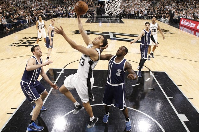 Thunder at Spurs Game 2 - 5/2/16 NBA Pick, Odds, and Prediction