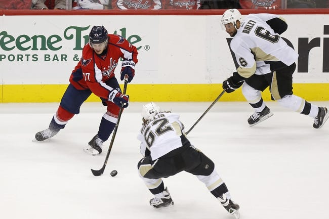 Capitals at Penguins Game 3 - 5/2/16 NHL Pick, Odds, and Prediction
