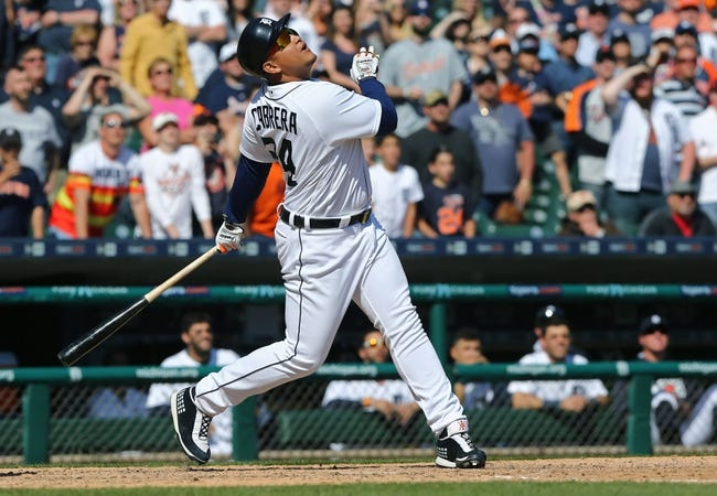 Tigers at Indians - 5/3/16 MLB Pick, Odds, and Prediction