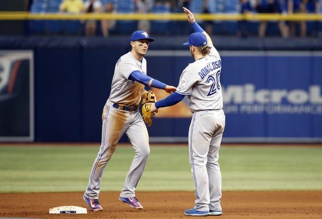 Toronto Blue Jays vs. Tampa Bay Rays - 5/16/16 MLB Pick, Odds, and Prediction