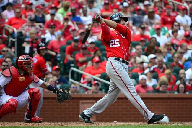 Washington Nationals vs. St. Louis Cardinals - 5/26/16 MLB Pick, Odds, and Prediction