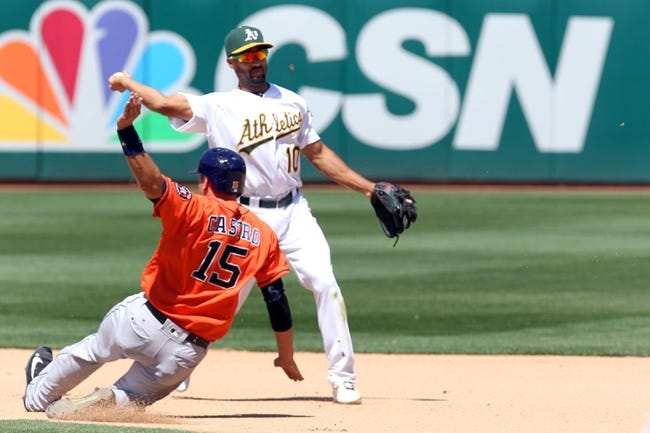 Houston Astros vs. Oakland Athletics - 6/3/16 MLB Pick, Odds, and Prediction